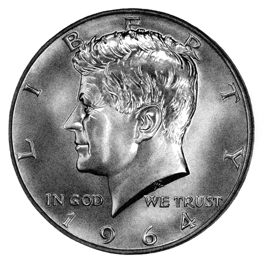 The Kennedy half dollar